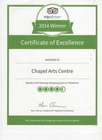 Trip Advisor Certificate 2014, vsmall