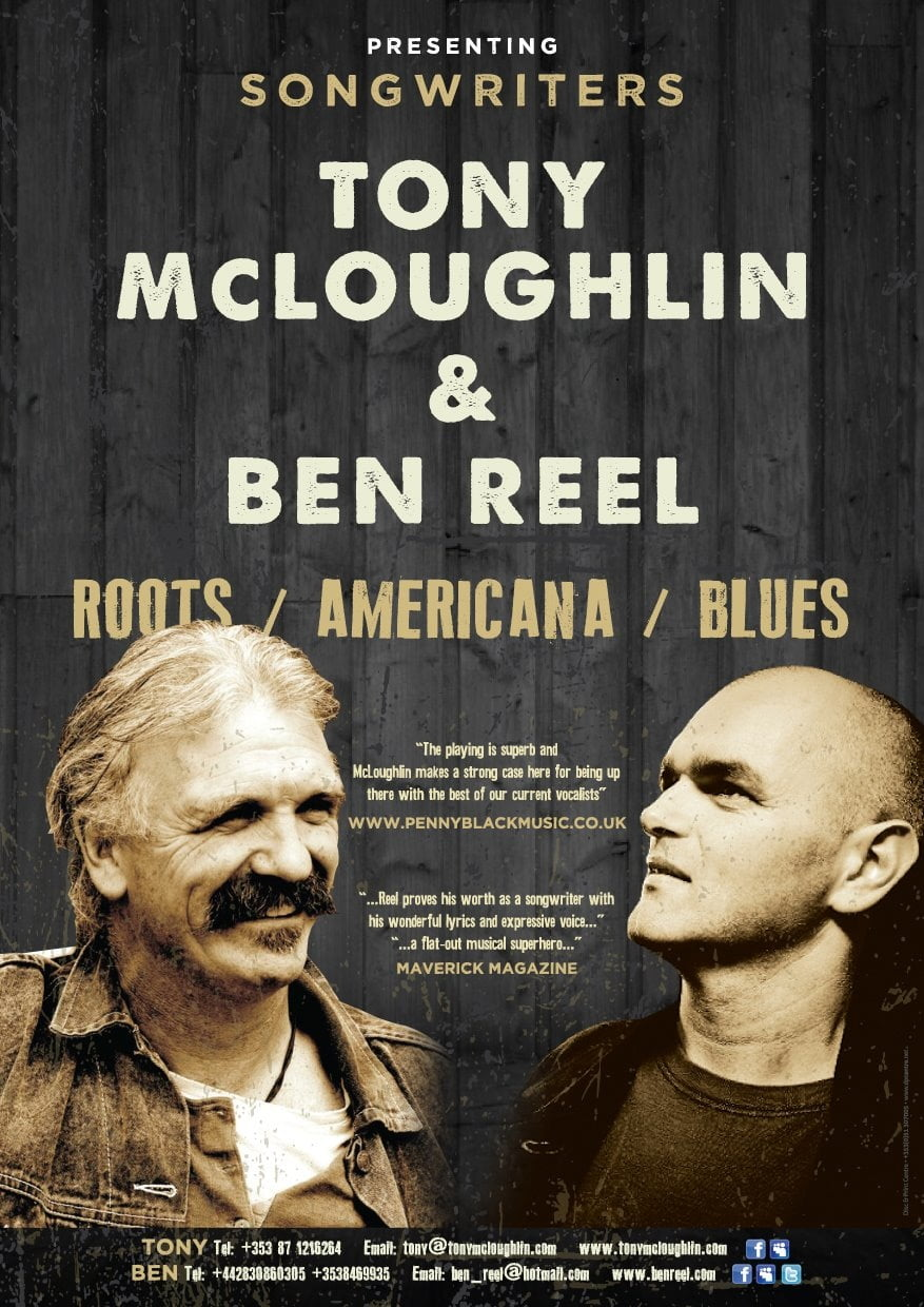Ben Reel & Tony McLoughlin (2 Irish Singer Songwriters)