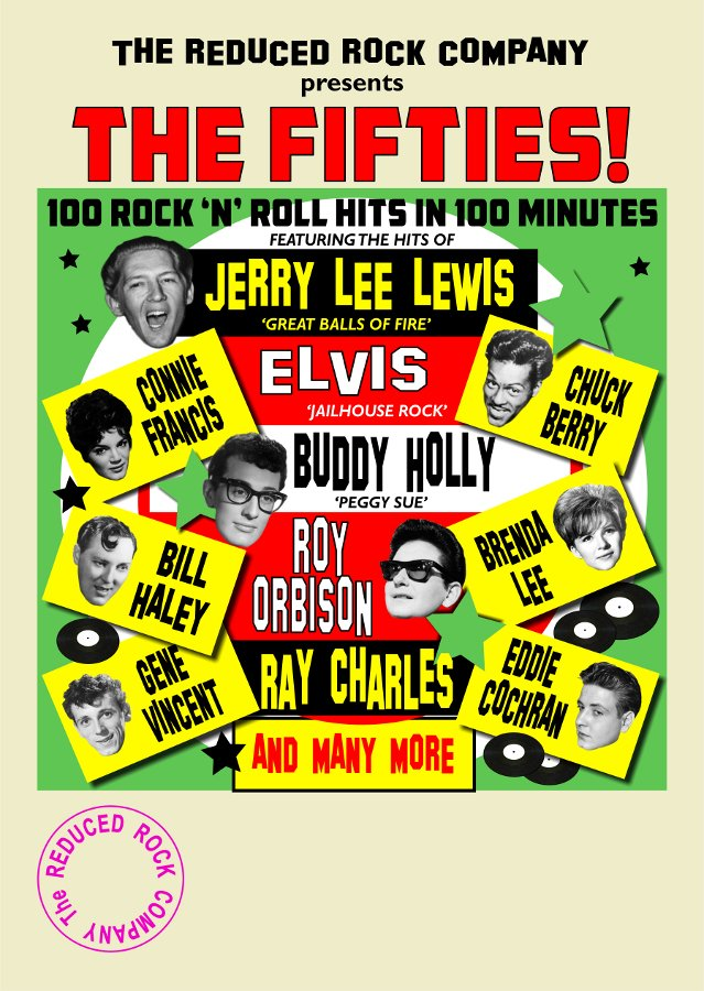 The 50's 100 Rock 'n' Roll Hits in 100 minutes