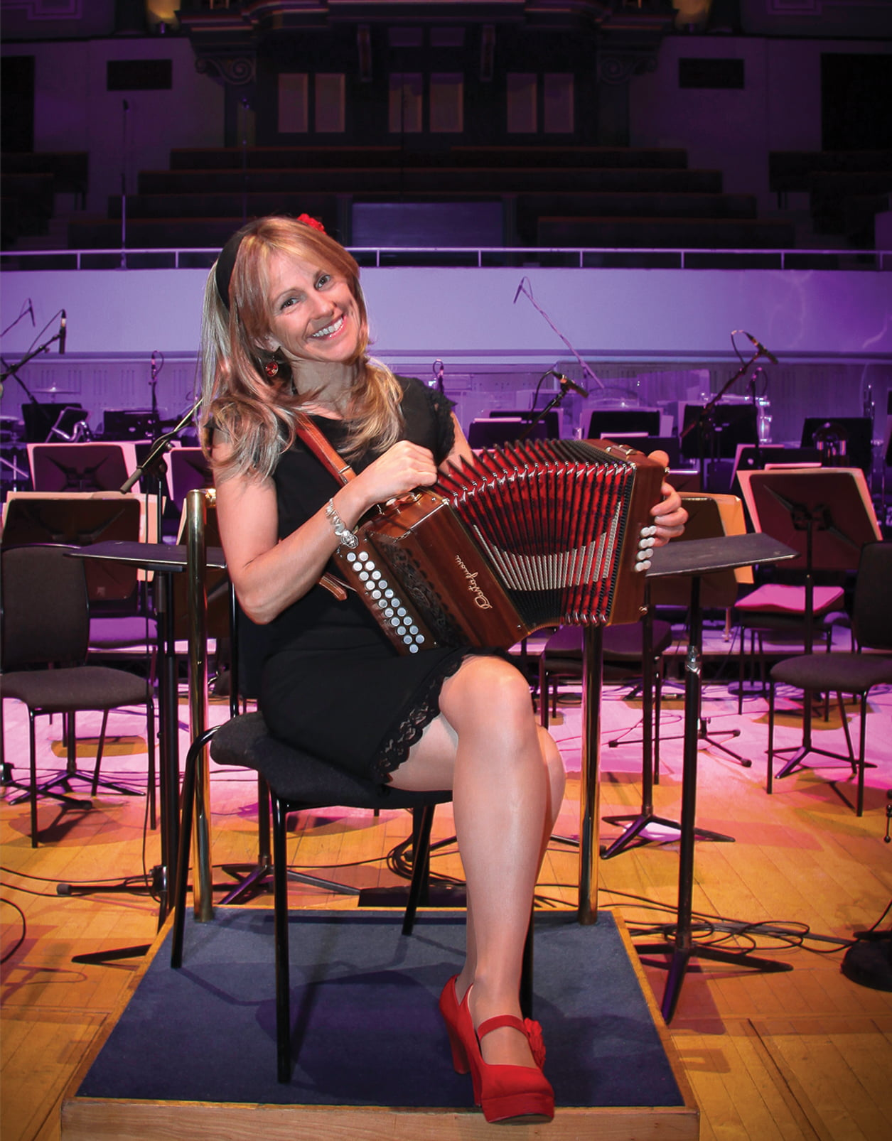 Sharon Shannon and band