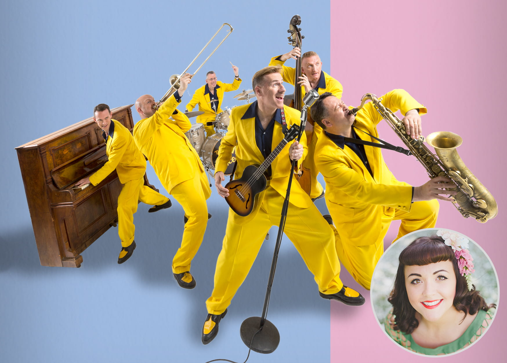 The Jive Aces – The UK's No.1 Jive & Swing band