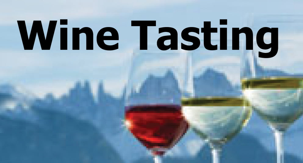 Wine Tasting – Wines From Special Places