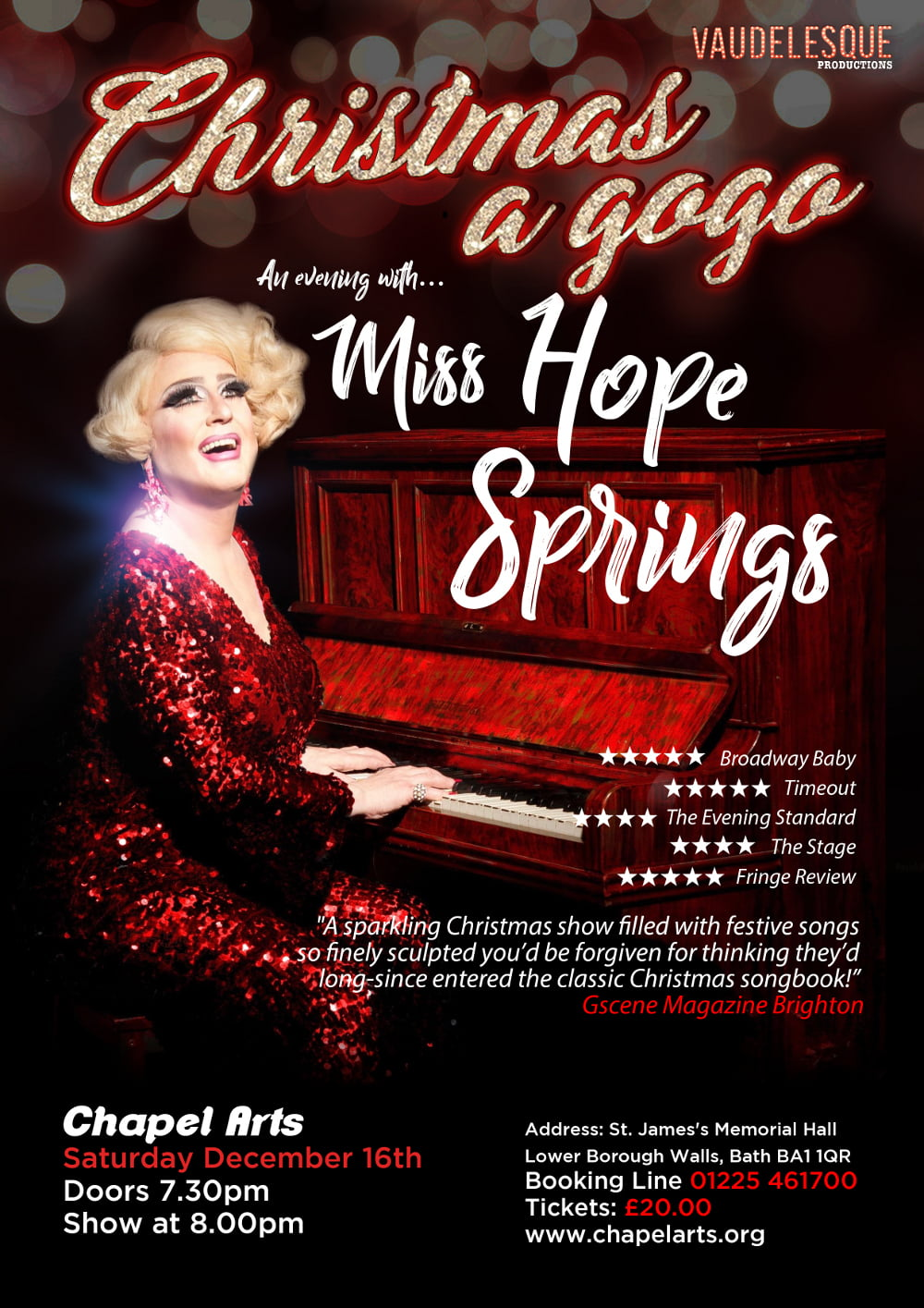 Miss Hope Springs Christmas a Gogo