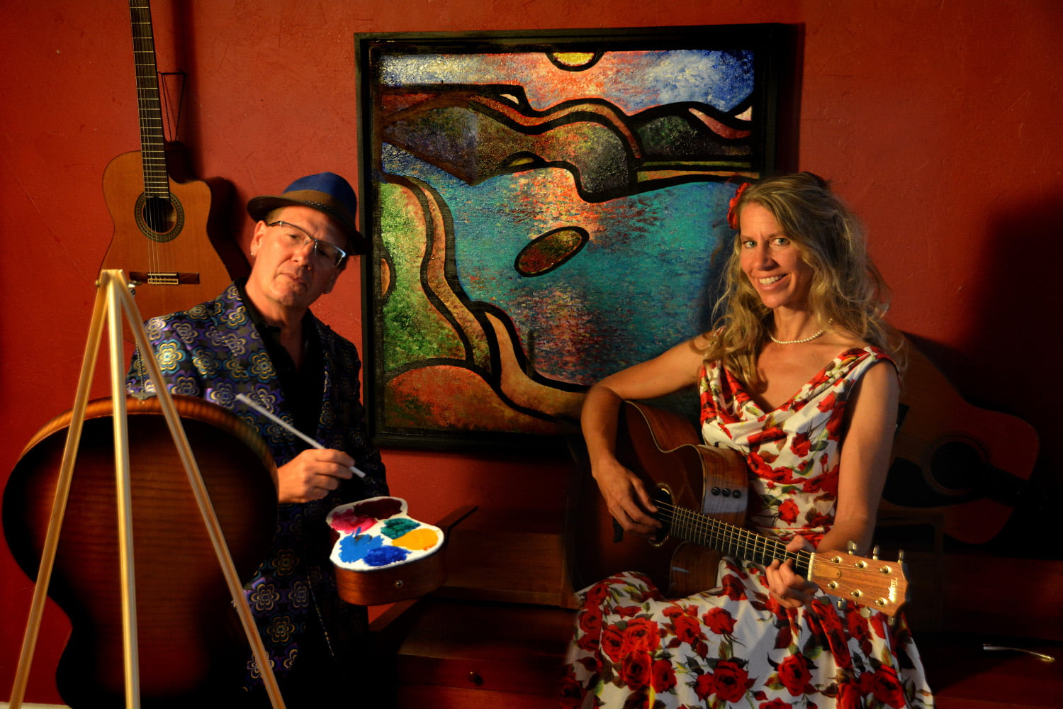 The Landscape of Guitar: Animated Painting Concert Experience
