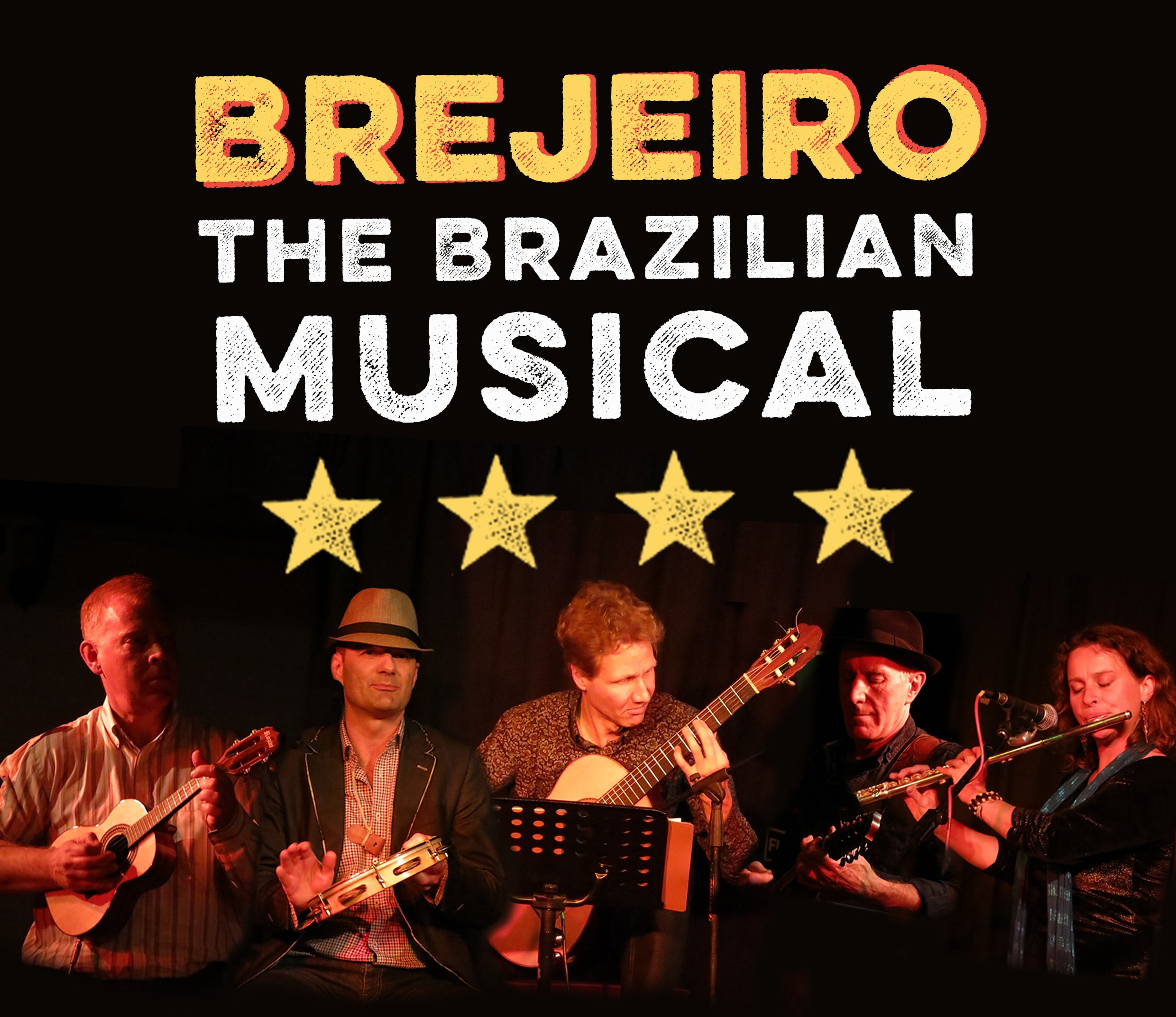 Brejeiro: the Brazilian musical - including 12 dancers!