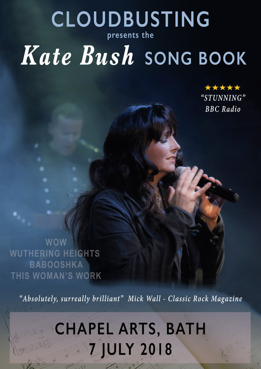 Cloudbusting present The Kate Bush Song Book - 40th Anniversary Tour with Del Palmer