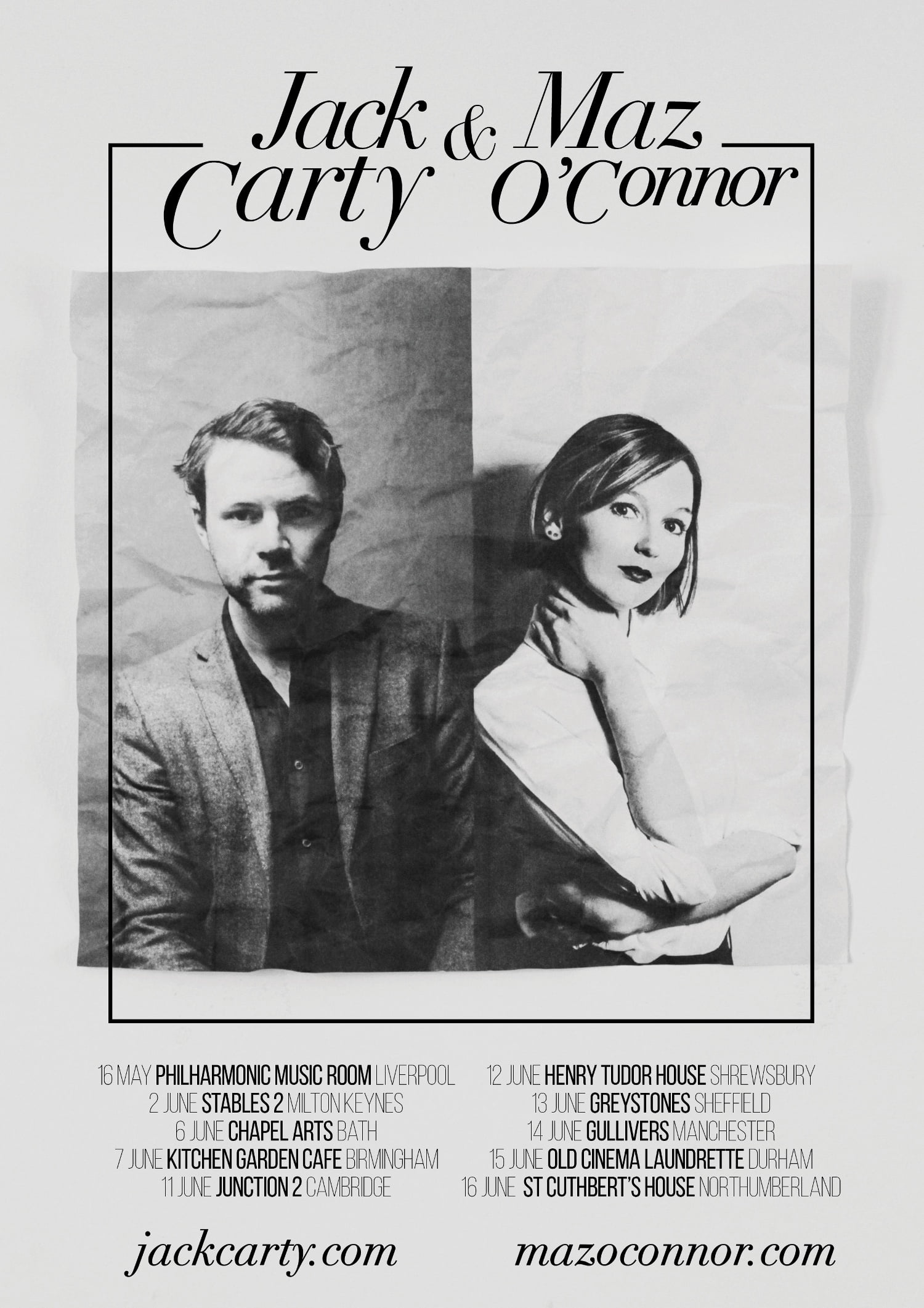 Jack Carty & Maz O'Connor