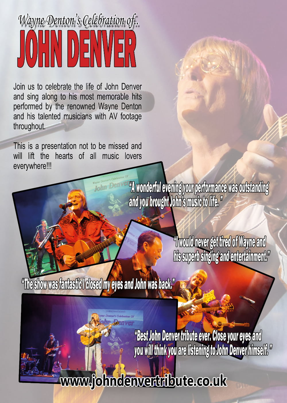 A Celebration of John Denver with full Band