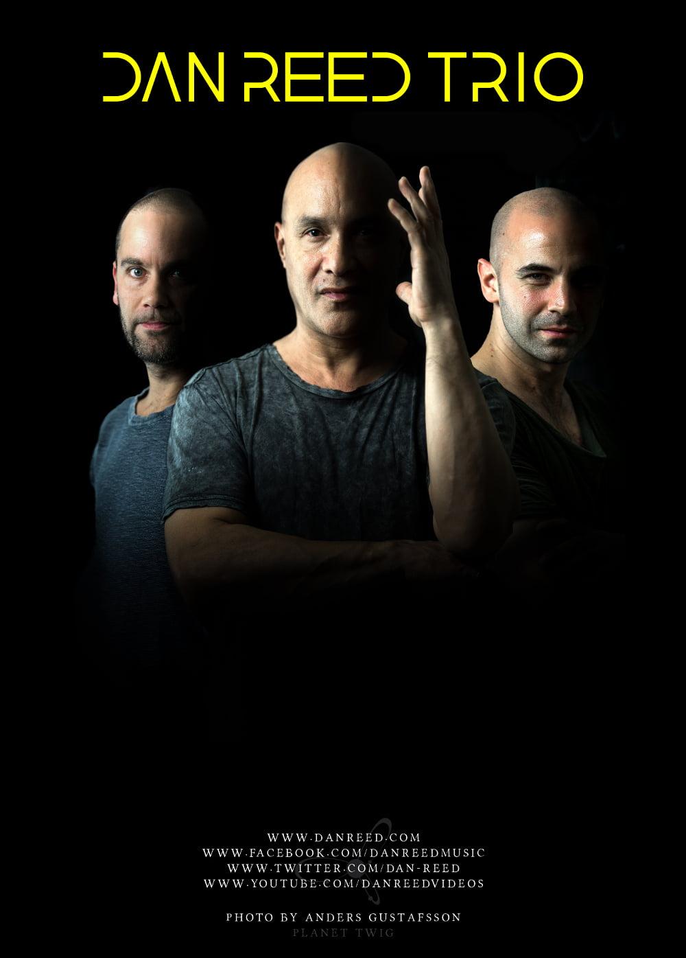 Dan Reed Trio plus support, Max Harvey