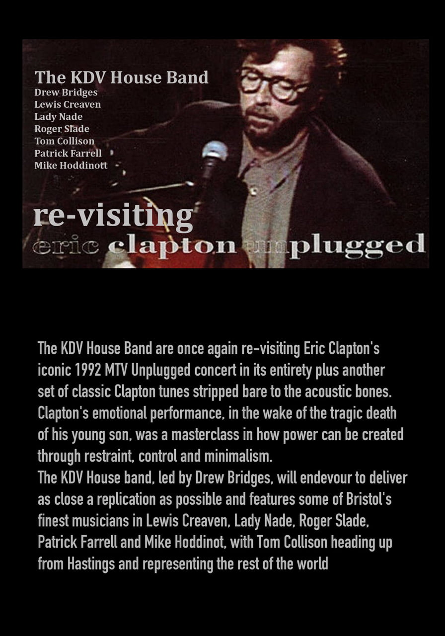 The KDV Band play Clapton Unplugged