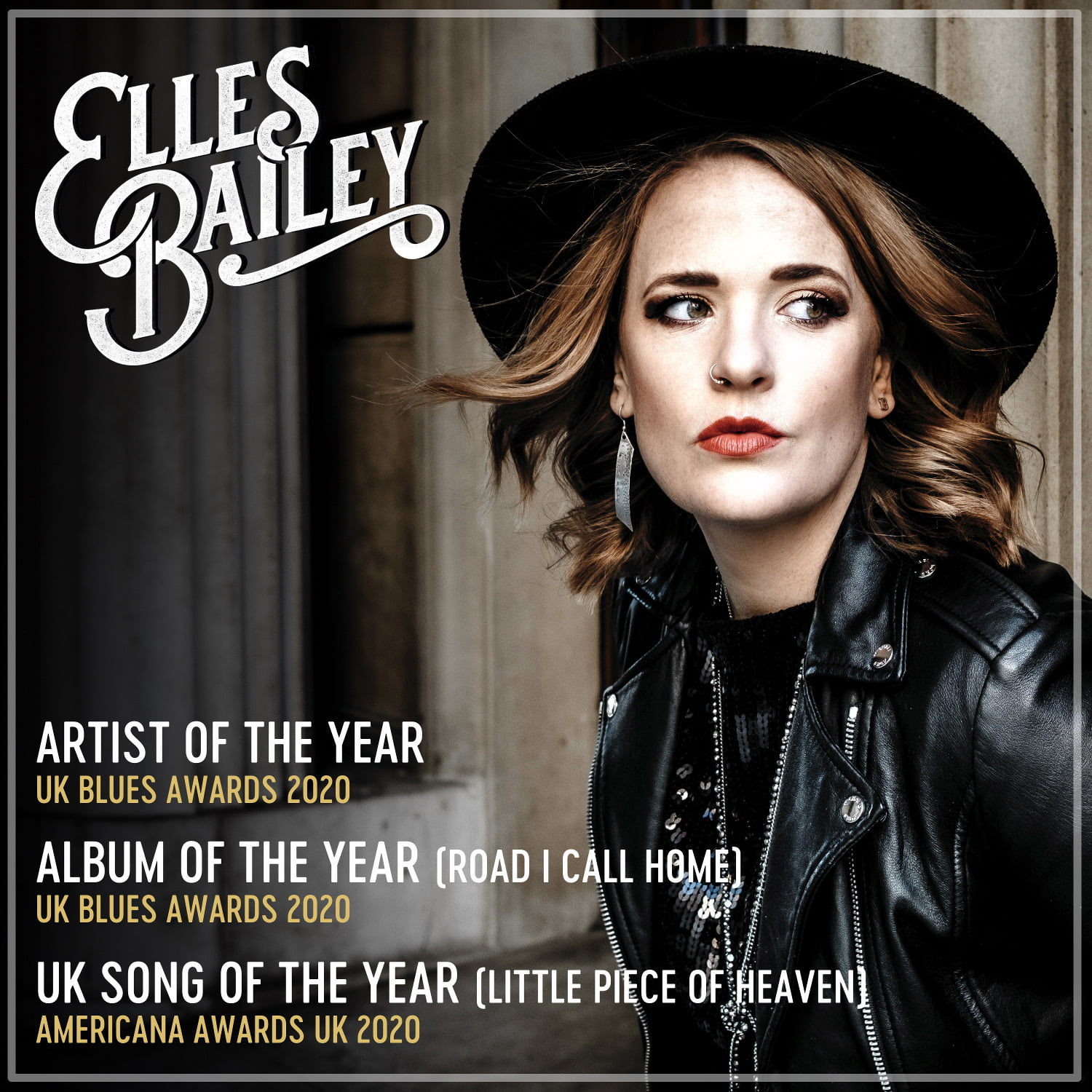 Elles Bailey plus support, Phil King