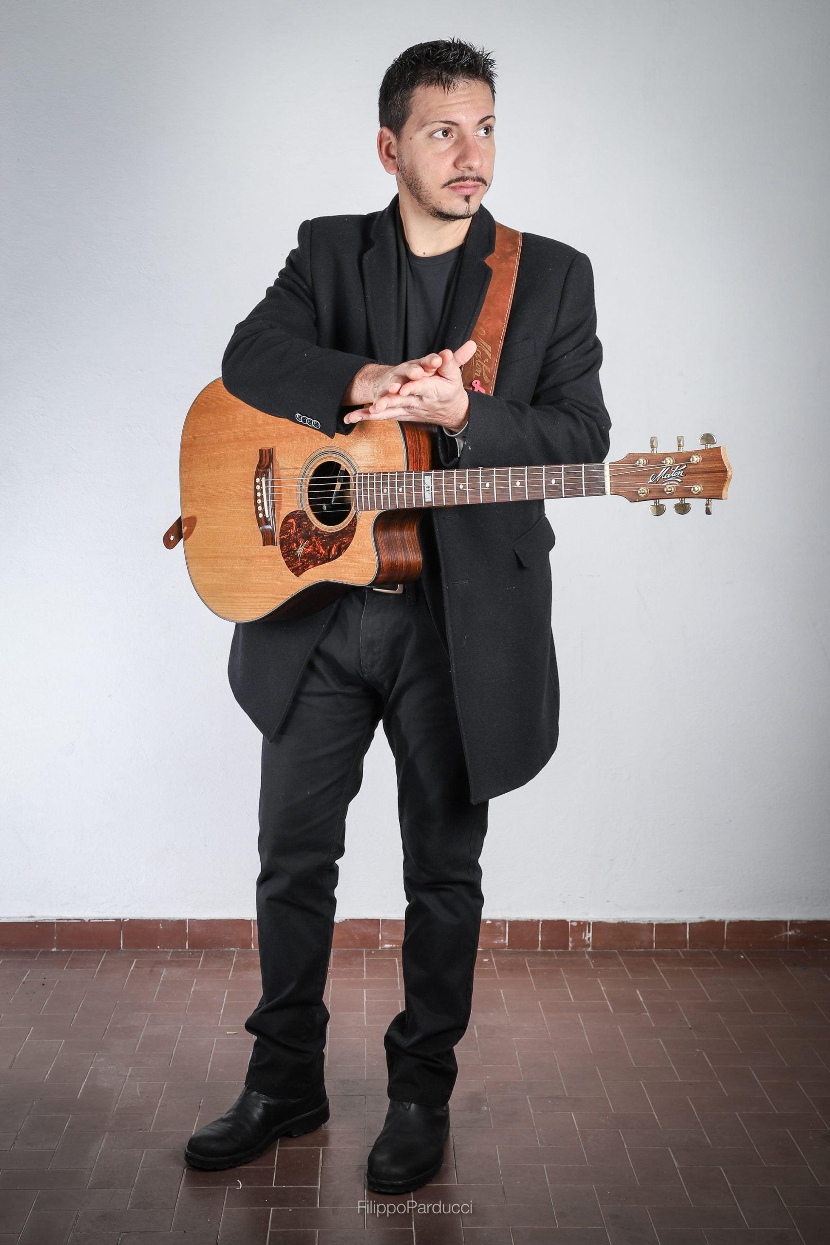 Guitarist Andrea Valeri