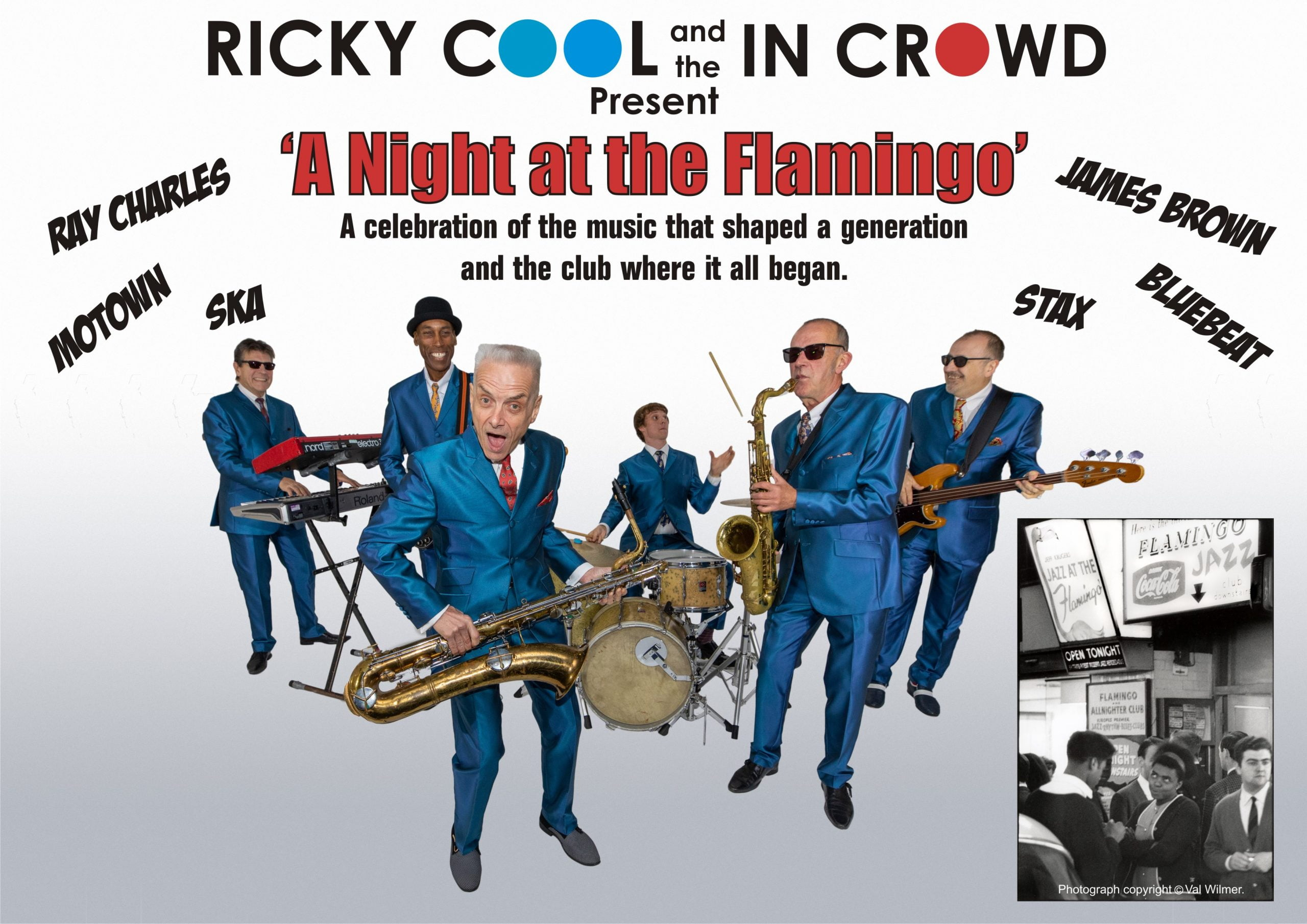 Ricky Cool & The In Crowd present: A NIGHT AT THE FLAMINGO