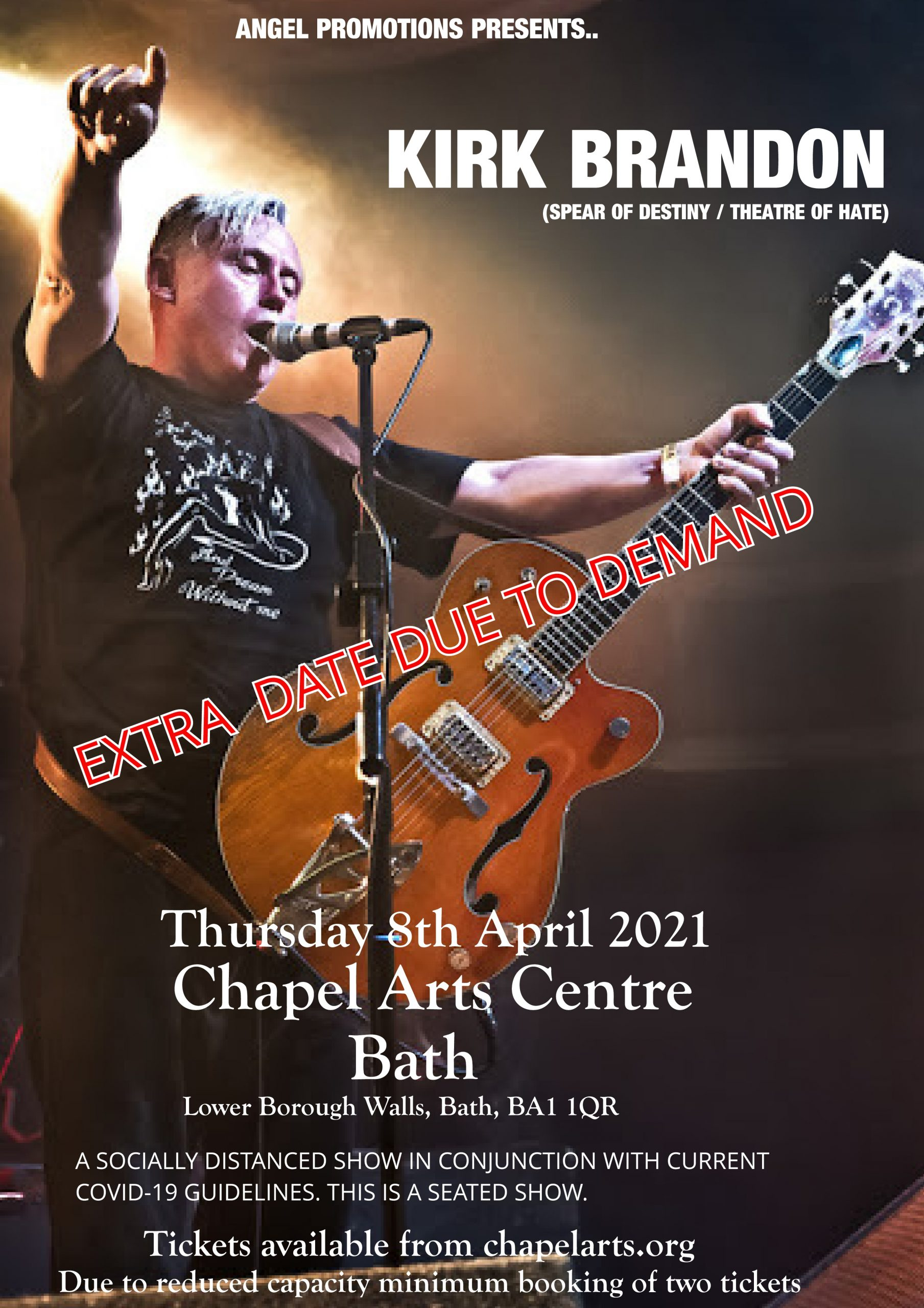 Kirk Brandon Solo - Second Date Added