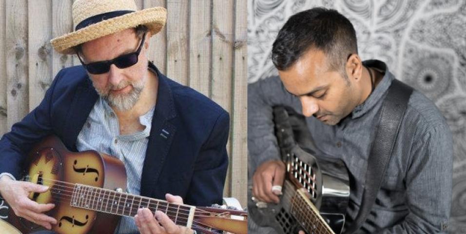 Blues & Roots Double Bill – Mark T & Ajay Srivastav