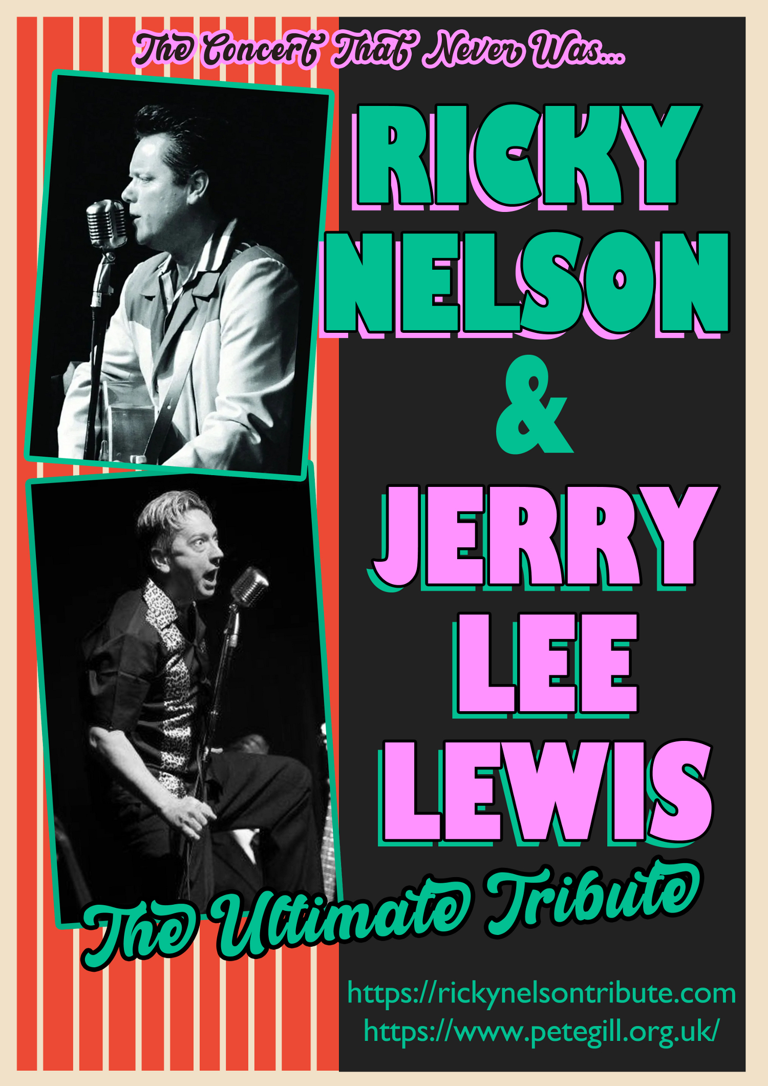 The Concert That Never Was - Ricky Nelson & Jerry Lee Lewis!
